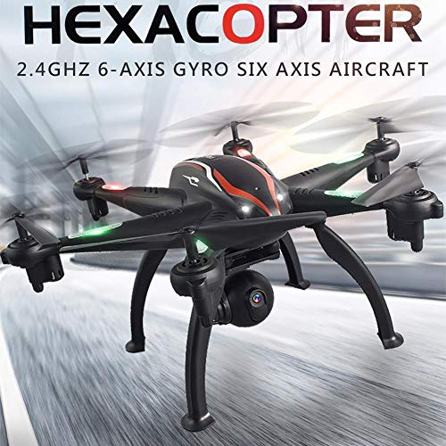 Carrie-ful Six-axis Aircraft Gyroscope Quadcopter WiFi Aerial Photography HD Picture UAV Remote Control Aircraft (Map Photography Aerial)