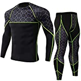 SSYUNO Men's Cycling Jersey Suit Fast Drying Tops Pants Sports Tight Suit Padded Biking Jakcet Outfit