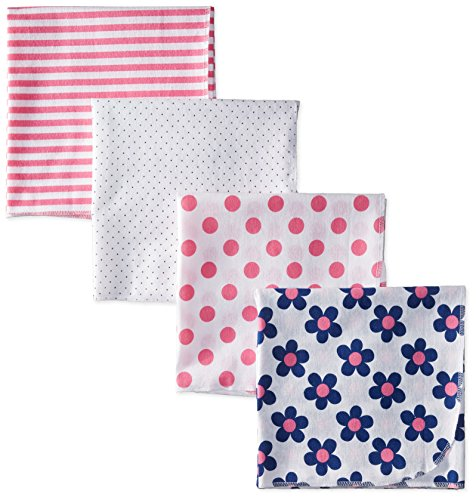 gerber-baby-girls-flannel-receiving-blanket-flowers-one-size-pack-of-4