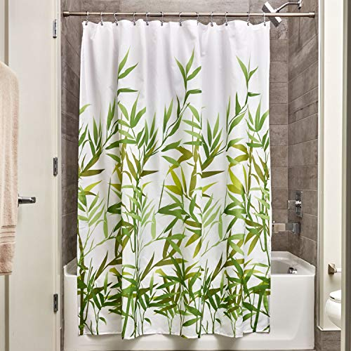 (InterDesign 36524 Anzu Fabric Shower Curtain  - Standard, 72