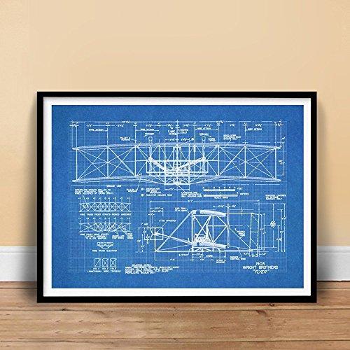 vintage airplane blueprint - 8
