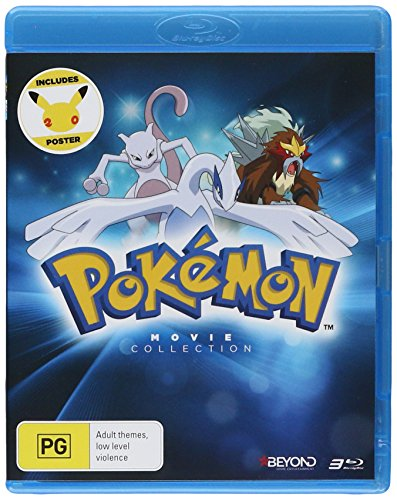 Pokemon: Movies 1-3 Collection [Blu-ray]