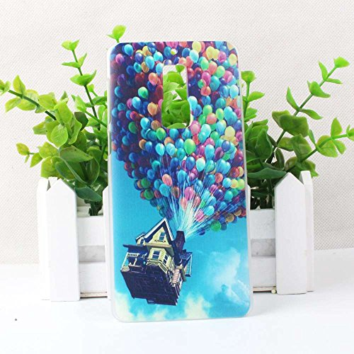 Guran® Plástico Hard Funda Cascara para Elephone S3 Smartphone Bumper PC Case Cover-transparente color04
