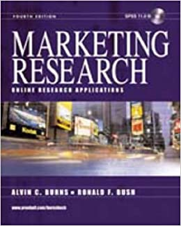 Book Marketing Research: Includes SPSS 11.0: Online Research Applications