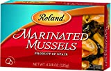 Roland Mussels, Marinated, 4 3/8 Ounce (Pack of 5)