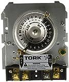 Tork 1101BM-IAP Time Switch Replacement Mechanism Single Pole, 40 Amp, 120V, Black