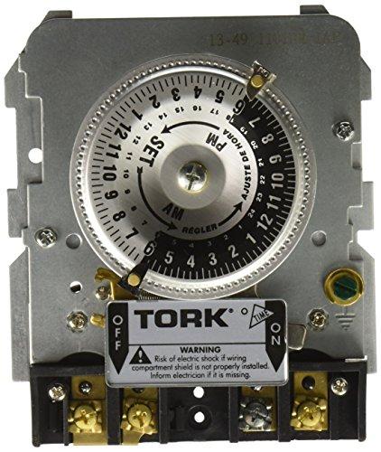 Tork 1101BM-IAP Time Switch Replacement Mechanism Single Pole, 40 Amp, 120V, Black by Tork