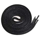 Shoelaces Dress Shoes For Boots Waxed Thin Round Shoe Laces 2 Pair Black 71