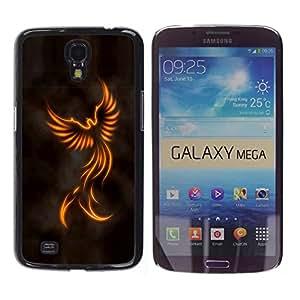 TECHCASE**Cubierta de la caja de protección la piel dura para el ** Samsung Galaxy Mega 6.3 I9200 SGH-i527 ** Minimalist Angel