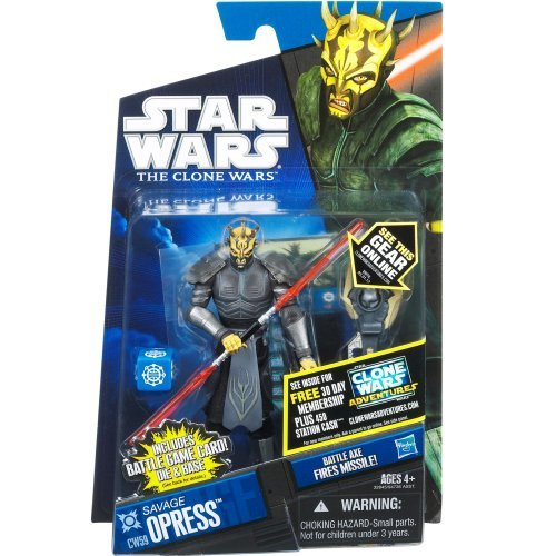 Figures Clone Wars Wars Star (Star Wars 2011 Clone Wars Animated Action Figure CW No. 59 Savage Opress Armored)