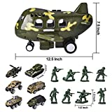 15 PCS Military Friction Powered Transport Cargo