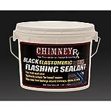 Elastomeric Black Flashing Sealant, 1/2 Gallon