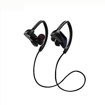 Tipo de oreja colgante impermeable y resistente al sudor auricular inalámbrico Auriculares Bluetooth IPX7 impermeable HD