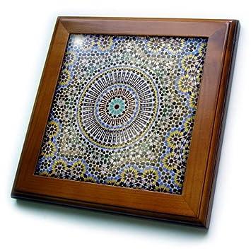 Morocco Africa AF29 KWI0083 Kymri Wilt Framed Tile 6 x 6 FES 3dRoseMosaic Wall for Fountain