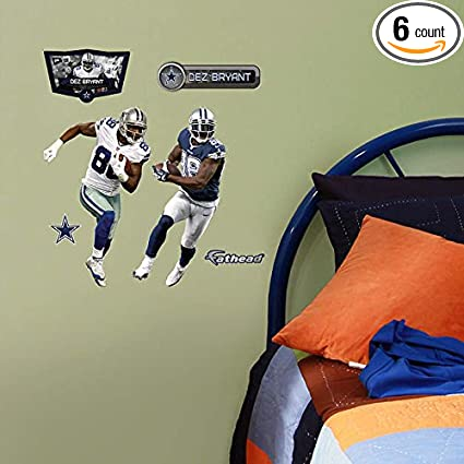 Fathead Nfl Dez Bryant Home Away Teammate