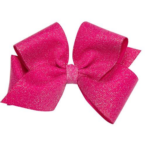 wee-ones-baby-girls-small-weesparkle-grosgrain-hair-bow-on-a-weestay-clip-azalea