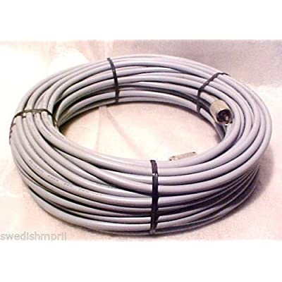 Redman Cb Made 50 ft RG8X COAX Gray CABLE CB / Ham Radio w/ PL259 Connector: Computers & Accessories