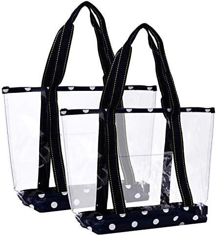 VENO Transparent Shoulder Handbag Shopping product image