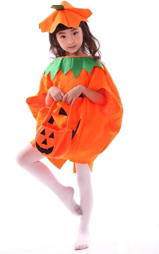 OOFAY Disfraz de Halloween, Vestido de Calabaza para Adultos ...