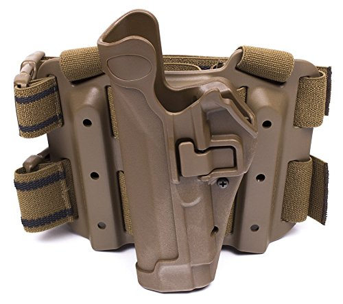 Blackhawk LH Tactical Serpa Leg Holster 430504CT-L Beretta 92 96 M9 M9A1 Coyote