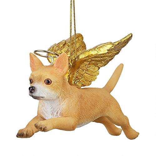 Christmas Tree Ornaments - Honor The Pooch Chihuahua Holiday Angel Dog Ornaments