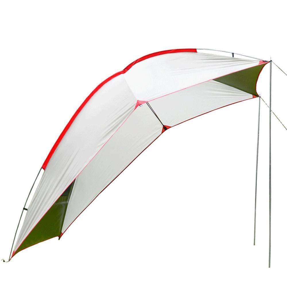 Mzl Outdoor Tragbares Campingzelt BBQ Multizivil Air Defense Regen Sonnenschutz Sonnenschutz Arbor Strand (2,4 x 1,9 x 2 m)