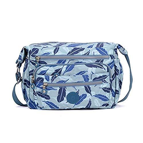 Las J76 Crossbody Imprimieron color Mujeres Tamaño De Señoras Fashion 2 Moontang Handbags Shoulder Satchel Messenger 10 School Tamaño Un Pattern dzqw7dC
