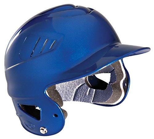 Rawlings Coolflo Metallic Batting Helmet (Silver Baseball Batting Helmet)