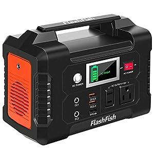 FlashFish ポータブル電源 大容量 小型発電機 40800mAh/151Wh AC(200W 瞬間最大250W) DC(120W) USB出力