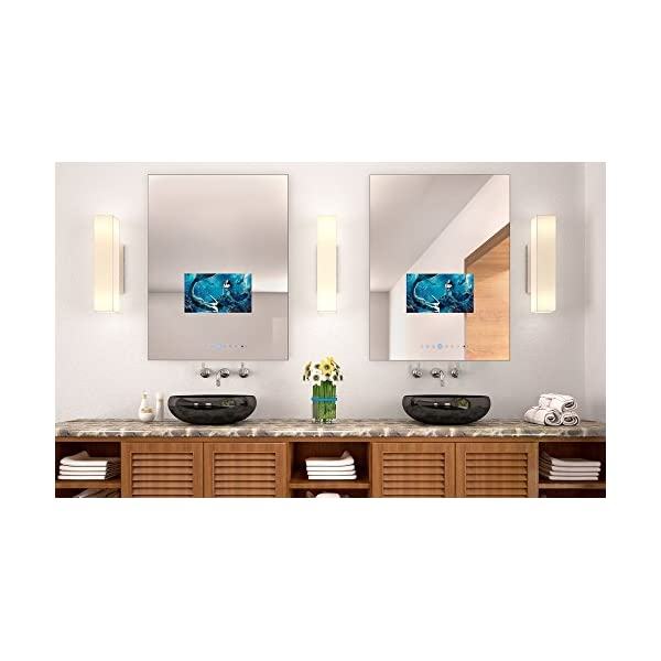 """Soulaca 24""""x32"""" Custom Rectangle Vanishing Mirror Television with 15.6inch LED Screen M156FN-V2 6"""