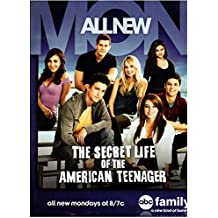 The Secret Life of the American Teenager (TV Series 2008 - 2013) 8 inch by 10 inch PHOTOGRAPH Cast on Bleachers Title Poster kn