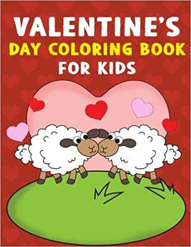 Valentine S Day Coloring Book For Kids A Super Cute Valentines