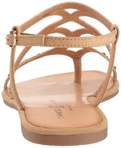 Sandale Genevieve Wäsche Kleid Kamel Chinesische Wildleder waBPxqtO