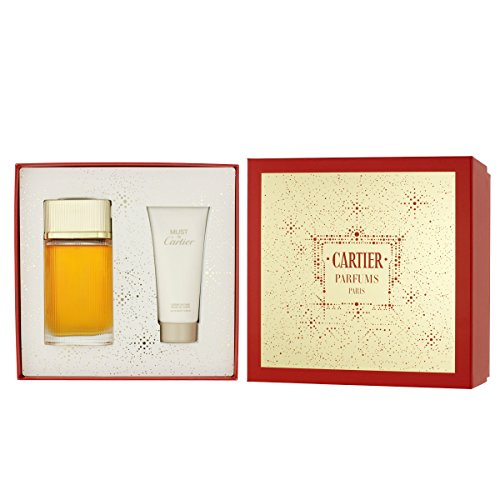 Cartier Must De Cartier Gold for Women 2 Piece Gift Set