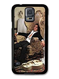 Johnny Depp Photoshoot Chair Guitar Diy For Iphone 6Plus Case Cover A5124