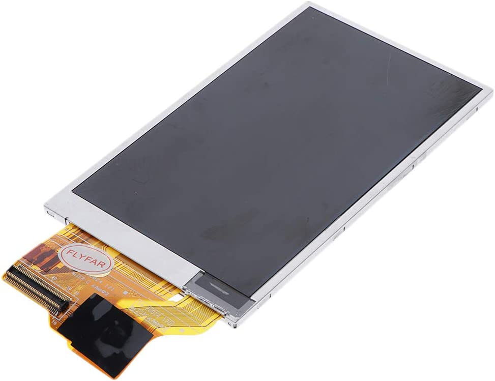 Black Almencla LCD Display and Touch Screen Digitizer Repair for Samsung ST600 Digital Camera