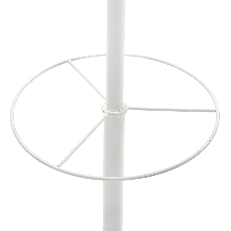 Versa 18790381 Perchero de pie Blanco 185x32x32 cm, 6 colgadores, Paragüero: Amazon.es: Hogar