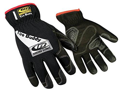 Ringers Gloves Tire Buddy, Rubberized Clarino Zeus finger...