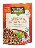 Seeds of Change Organic Quinoa & Brown Rice with Garlic 8.5 OZ (Pack of 24)