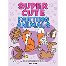 Super Cute Farting Animals Coloring Book