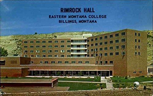 Rimrock Hall, Eastrern Montana College Billings Original Vintage - Rimrock Billings Montana