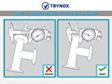 Trynox Clamp Sanitary Stainless Steel Butterfly