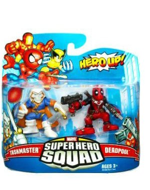 - Marvel Superhero Squad Series 19 Mini 3 Inch Figure 2Pack Taskmaster Deadpool