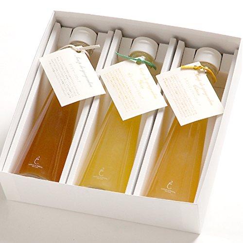 銀座のジンジャー 定番 3本セット (プレーン、柚子、レモン)
