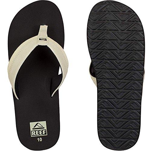 Reef Stuyak II Flip Flops Zehentrenner Sandalen black tan