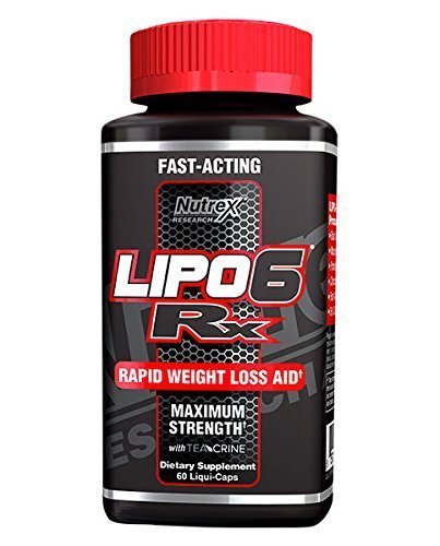 Nutrex Research Lipo-6 RX Supplement, 60 Count by Nutrex