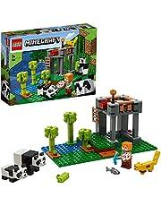 LEGO Minecraft 21158 The Panda Nursery Building Kit (204 Pieces)