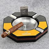 Cigar Ashtray Solid Wood Fashion Living Room Furniture Decoration Jewelry Exquisite Smoking Gift Set Cuban Cigar Smoking Accessories
