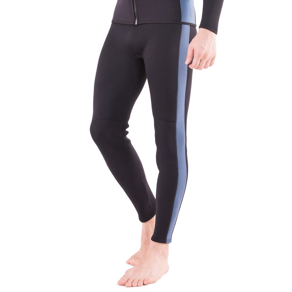 Flexel Wetsuit Pants 2MM Neoprene Men and Women's Surfing Leggings Swim Tights for Diving Snorkeling Kayaking Canoeing Trousers (2mm Pants Navy, 2X-Large) by Flexel