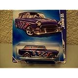 Hot Wheels 2009 Heat Fleet Blue 1955 Nomad